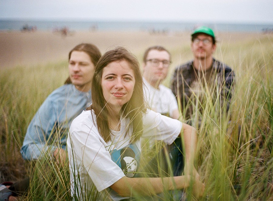 Ratboys, from left to right: Dave Sagan, Julia Steiner, Sean Neumann, and Marcus Nuccio - COURTESY THE ARTIST