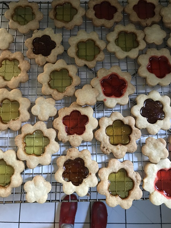 Stained Glass Cookies - BONNIE TAWSE