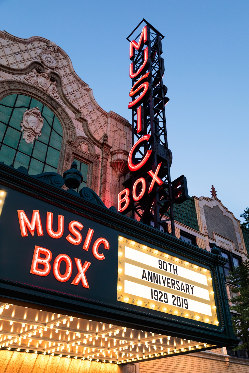The Music Box is the only independent theater currently operating in its physical space. - ARI NEIDITZ
