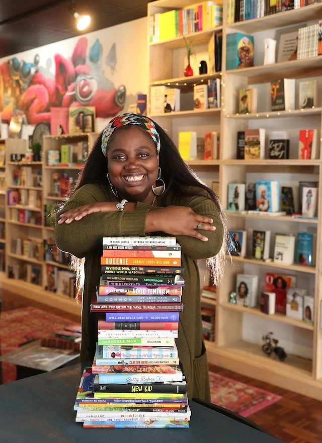 """""""I think naturally Black booksellers are going to be more focused on the community than the dollars and cents. I also recognize that Black bookselling is a different beast. We're just making our own way."""" - COURTESY DL MULLEN"""
