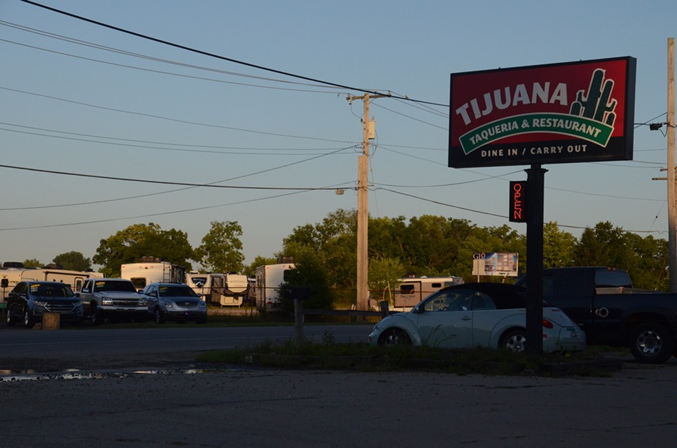 """A view of State Road 33. The """"RV Manufacturing Capital of the World,"""" Elkhart County is home to one of the biggest Latino populations in the state. - LUCAS ROBINSON"""