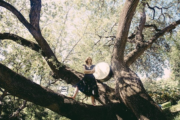 Tift Merritt drags her prey high into the branches of a tree to protect it from scavengers. - COURTESY HIGH ROAD TOURING