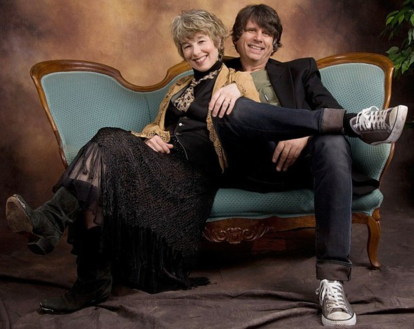 Rindy and Marv Ross of Quarterflash in 2010 - KEITH BUCKLEY