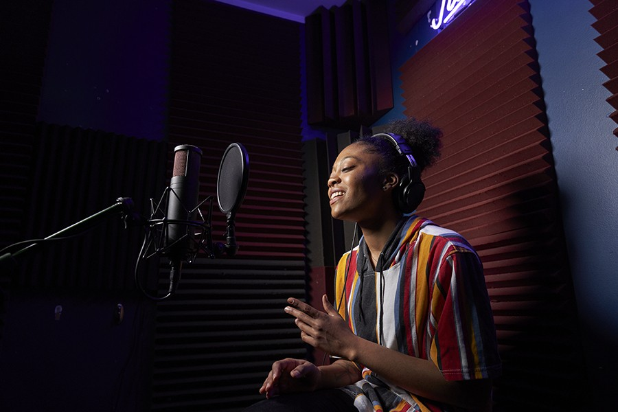 Recording artist Mykah Estelle, part of Insomniac's IS Pro Team - MATTHEW GILSON FOR CHICAGO READER