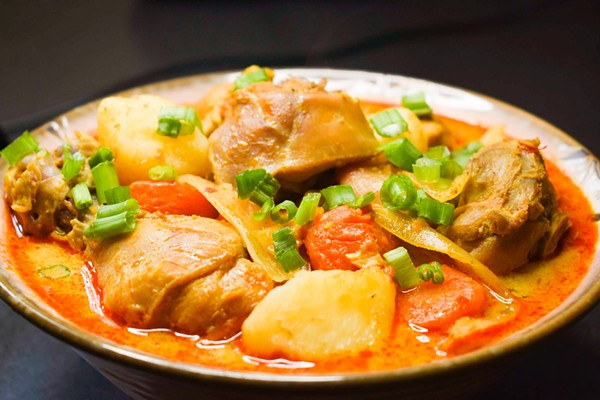 Khmer chicken curry - COURTESY MONA SANG