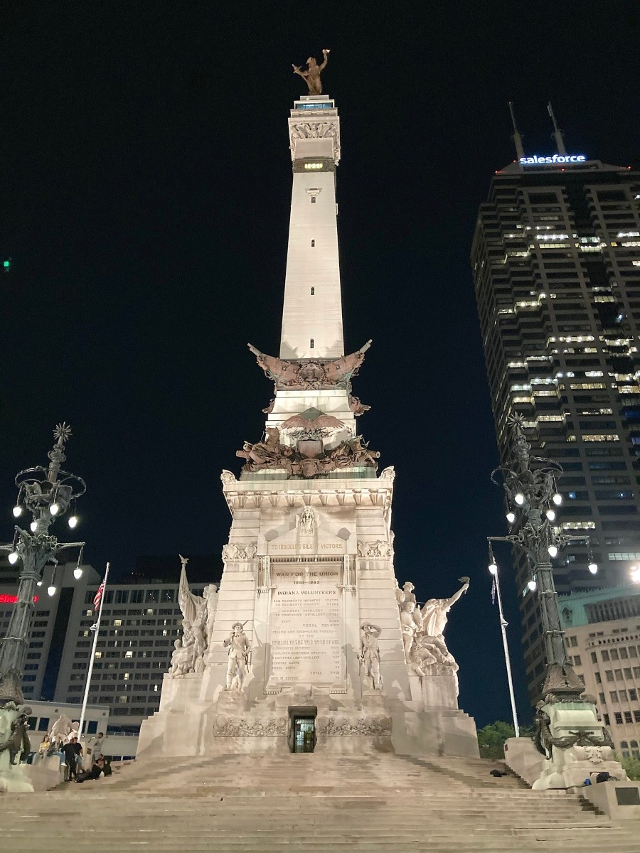 The Soldiers and Sailors Monument - JOHN GREENFIELD
