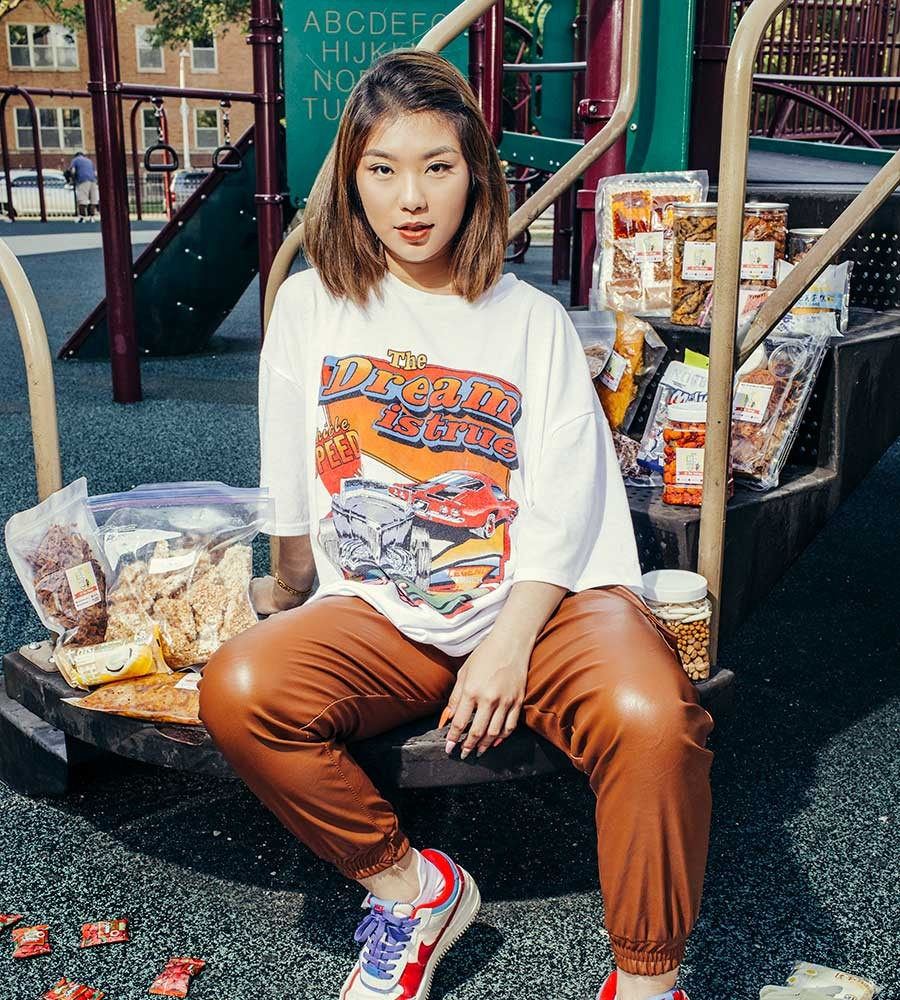 Natalie Vu wants Americans to experience how Vietnamese people eat snacks. - JEFF MARINI FOR CHICAGO READER