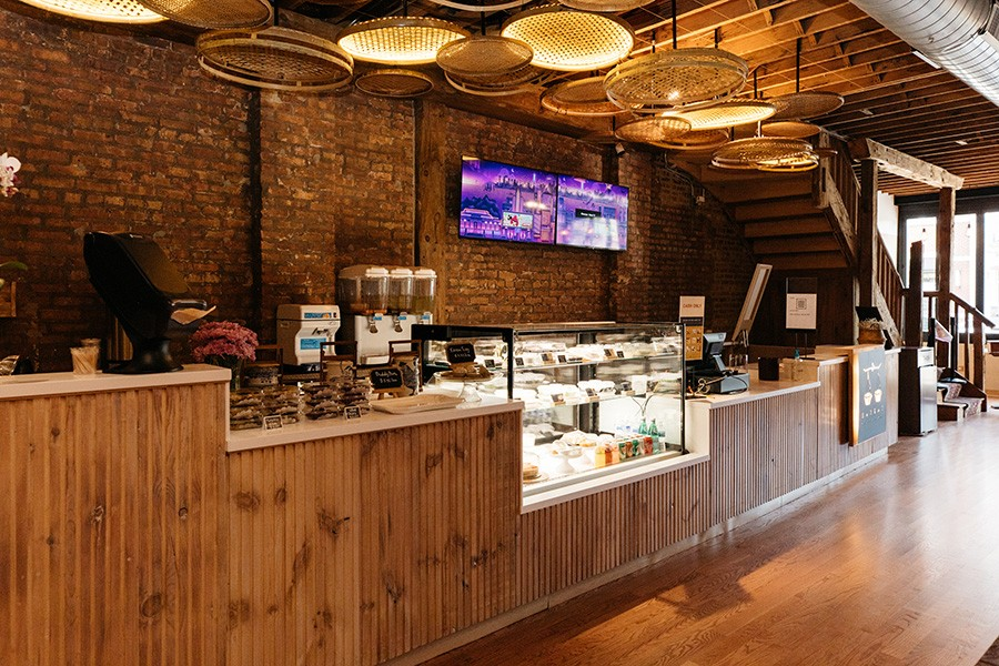 The space has elements of a traditional Thai kitchen. - SANDY NOTO FOR CHICAGO READER