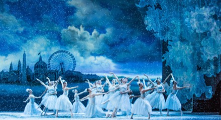The Joffrey's new <i>Nutcracker</i> spellbinds amid the snow