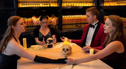 The improvised murder mystery <i>Clued In</i> is too slow-paced to be much fun