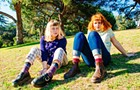 The charming (and drummerless) Philly duo Girlpool dives into Subterranean
