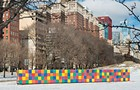 Tony Tasset's <i>Artists Monument</i> brightens up Grant Park