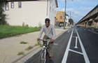 Why didn't more locals show up for the city's west-side bikeway hearings?