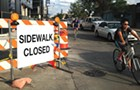 Unsafe construction zones and trashed bike lanes are endangering cyclists