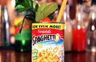Uh-oh, a SpaghettiOs cocktail!