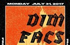 Dim brings a high-contrast mystery figure to the gig poster of the week