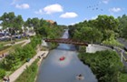 The turbulent history of the bike bridge that will finally complete the North Shore Channel Trail