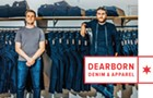 Rob McMillan and Kaleb Sullivan of Dearborn Denim & Apparel