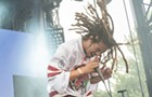 Behind the scenes at Pitchfork: Kweku Collins [PHOTOS]