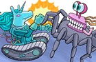 Robot Riot, the tabletop sumo competition, is back