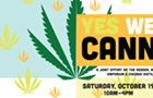 Announcing Yes We Cann, a cannabis market & symposium Saturday, October 19