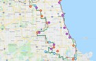 A challenging and memorable bike ride around Chicago's exact city limits