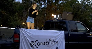 Stand-up anywhere with Comedy Pickup