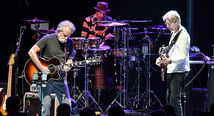 Bob Weir and Phil Lesh at the Chicago Theatre