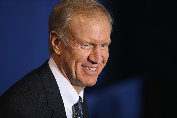 Governor Bruce Rauner would like to make it harder to sue companies like those he used to own.