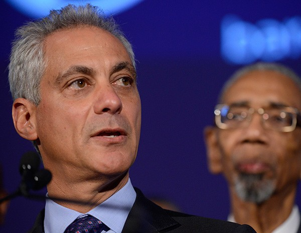Even after announcing cuts to the schools, Mayor Rahm Emanuel is desperate for more money.