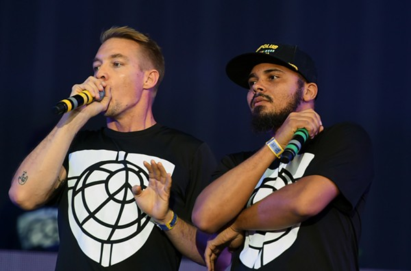 Diplo and Walshy Fire of Major Lazer