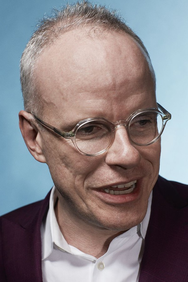 Curator Hans Ulrich Obrist, who'll lead the discussion