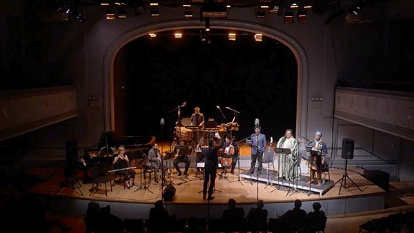 ICE and guests perform George Lewis's Afterword: The AACM (as) Opera