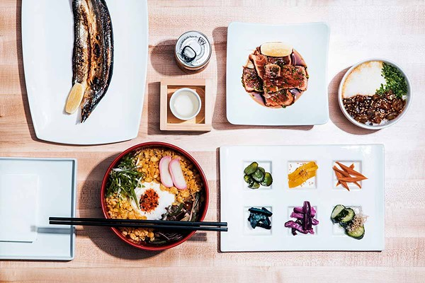 Rich, homey Japanese soul food abounds at Lure Izakaya.