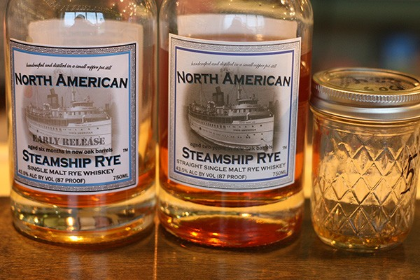 Quincy Street released its straight single-malt rye whiskey, North American Steamship Rye, in early January.