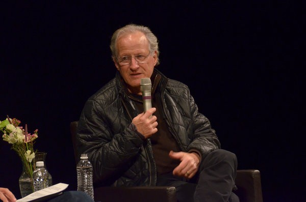 Michael Mann speaking at BAM Harvey Theater earlier this month