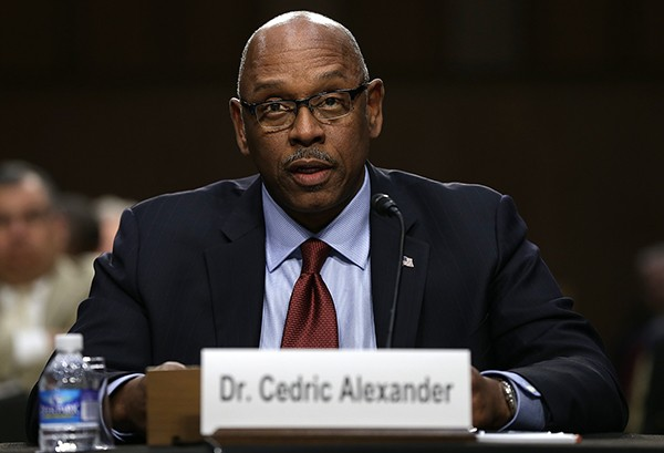 Cedric Alexander, then president of the National Organization of Black Law Enforcement Executives, testified before the Senate Judiciary Committee's Constitution, Civil Rights and Human Rights Subcommittee in 2014.