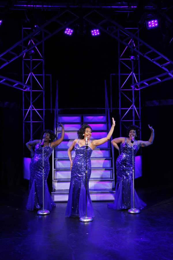 Donica Lynn, Candace C. Edwards, and Katherine Thomas in Dreamgirls