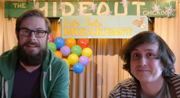 Late Late Breakfast hosts Danny Maupin and Tyler Jackson