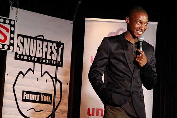 Josh Johnson, who won the stand-up prize at last year's Snubfest, now writes for The Tonight Show With Jimmy Fallon.