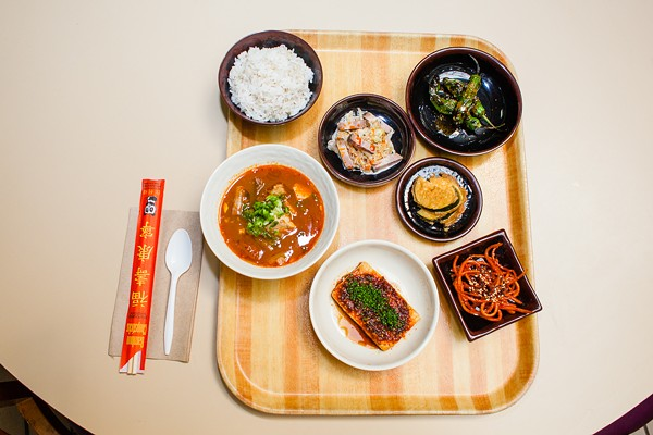 A selection of offerings at Hanbun