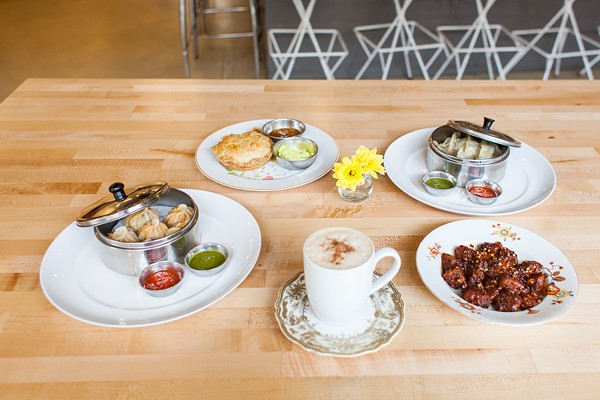 Chiya Chai Cafe offers an impressively varied food menu.