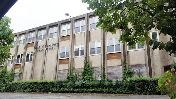 Bontemps Elementary School in Englewood has been repeatedly vandalized and burglarized since it closed in 2013.
