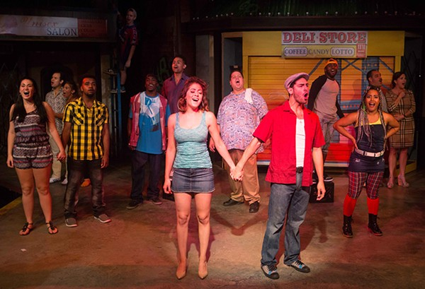 The ensemble of In the Heights