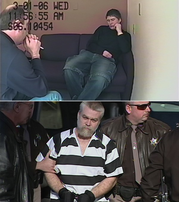 From top: Dassey's conviction was vacated in August; Avery's lawyers are working to have his conviction overturned.