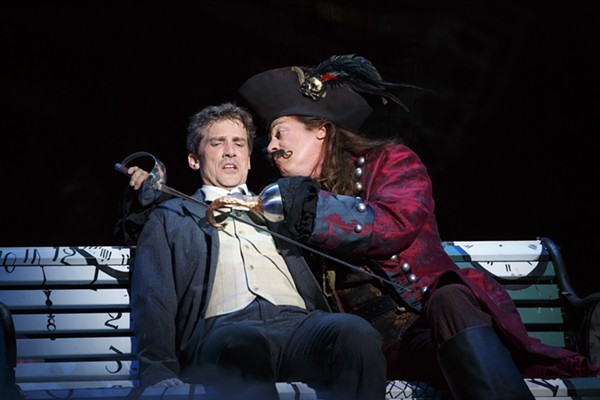 Kevin Kern and Tom Hewitt in Finding Neverland