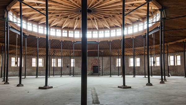 "The DuSable Museum's Roundhouse is the site of a major ""pop-up"" show of emerging French and Chicago-area artists by Paris's Palais de Tokyo."