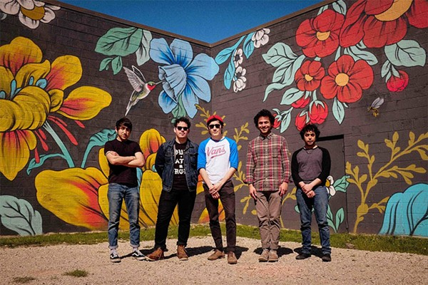 Desert rockers Los Gold Fires perform as part of Demolición on Friday at the Auxiliary Art Center.