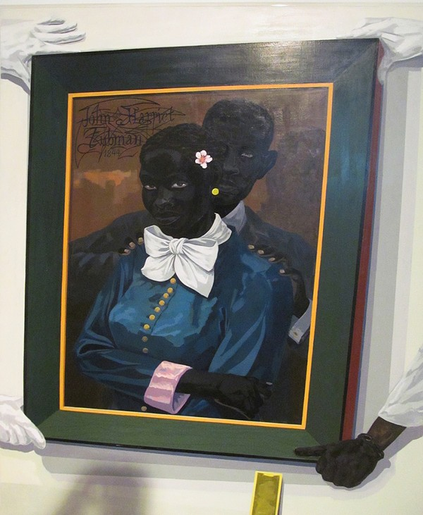 Kerry James Marshall, Still Life With Wedding Portrait, 2015