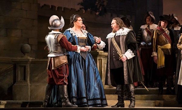 I Puritani, currently playing at the Lyric